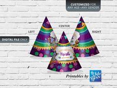 Krishna Theme Hat / Customized Party Hat for Birthday / Baby Shower Daughter Birthday, Boy Birthday, Birthday Ideas, Krishna Birthday, Diy Party Hats, Little Krishna, Birthday Chalkboard, Diy Hat, Photo Booth Props
