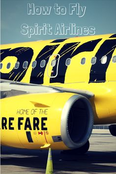 new style 02e4d ee9ae How To Fly Spirit Airlines (without breaking the bank!) Cheap Travel, Budget