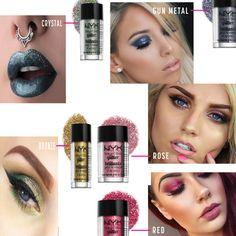 #Makeup #Beauty #Glitter #Body #Face #NYX #BodyGlitter Shine bright like a Diamond ... - http://couponingwithcupkake.com/shine-bright-like-a-diamond-5-glitter-looks-to-try/ …