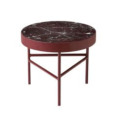 These tables, available in three sizes and four colors, are made from solid…