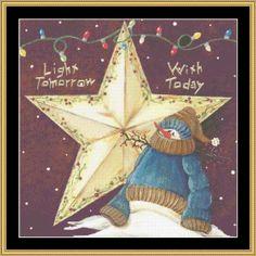 Light Tomorrow [JM-44] - $16.00 : Mystic Stitch Inc, The fine art of counted cross stitch patterns