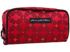 This is the Petunia Pickle Bottom brocade powder room case in spiced crimson roll, which I think would also look nice with the prints I like. This is also an older print so getting to be hard to find.