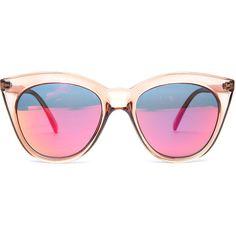 6e036bfd0d6 Le Specs The Halfmoon Magic Sunglasses in Tan · Le Specs SunglassesPink ...