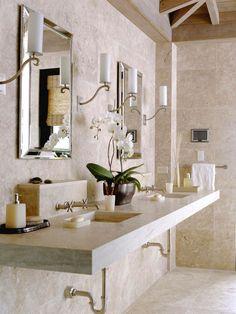 Gorgeous bathroom interior design ideas and decor vanity by Hydrangea Hill Cottage