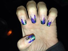 My nails~ Grapevine