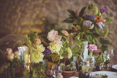 Eclectic Wedding Flowers | Camille Marciano for Junophoto | Bridal Musings Wedding Blog 15