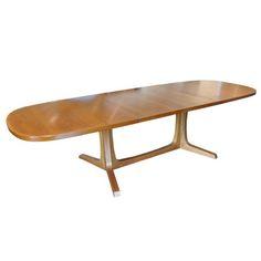 Post Modern Home » Gudme Mobelfabrik Danish Modern Teak Extension Dining Table