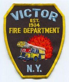 Mini Vol Fire Police Association State of New York  Patch-Shoulder Hat Jacket