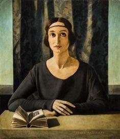 Felice Casorati - Ritratto di Cesarina Gualino, 1922