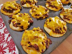 BBQ Biscuit Cups with Sweet Baby Ray's by The Country Cook. Simple, easy and delicious.