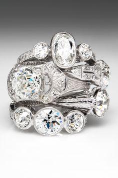 Antique Engagement Rings from EraGem