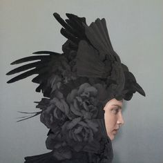 — worx - Absolutely stunning collages by Q-TA Art Director, Collage Artist from Tokyo. Fine Art Photo, Photo Art, Hybrid Art, Black Wings, Fashion Photography Inspiration, Fantasy Costumes, Weird Fashion, Zoom Photo, Head Accessories