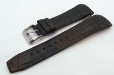 Vostok Europe Gaz-Limo Leather Strap 23mm Black-Gaz.23.L.S.Bk