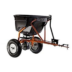 pull behind fertilizer spreader