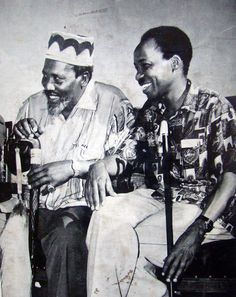 Jomo Kenyatta (Kenya's president) with Julius Nyerere (Tanganyika* & Tanzania's president) (*Tanganyika was formerly an independent nation, in Tanganyika united politically. African Culture, African American History, Jomo Kenyatta, Julius Nyerere, Steve Biko, Pan Africanism, Tribal Warrior, African Royalty, African Diaspora