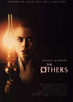 The Others is a 2001 psychological horror film written, directed and scored by Spanish director Alejandro Amenábar, starring Nicole Kidman and Christopher Eccleston. It is inspired partly by the 1898 novella The Turn of the Screw. Film Movie, See Movie, Movie List, Movie Titles, Ghost Movies, Scary Movies, Ghost Film, Horror Movie Posters, Horror Movies