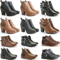Womens #ladies low flat heel pull on stretch chelsea #riding ankle shoe #boots si,  View more on the LINK: 	http://www.zeppy.io/product/gb/2/271852207768/