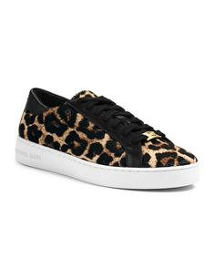 MAJOR liesure time sass!!! MICHAEL Michael Kors  Keaton Calf-Hair Sneaker.