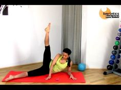 Barre Pilates Fusion Lower Body Mat Workout - Micro and Iso Lower Mat BARLATES BODY BLITZ - YouTube