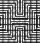 Мобильный LiveInternet Филейные схемы абстрактная геометрия   Irina_Karpenko - Дневник Irina_Horn  