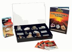 Gemstone & Rock Discover & Collect Set is a great way way to start a beautiful rock collection. Your children will have fun while learning valuable science facts with this instructional science kit. At ComputerGear.com.