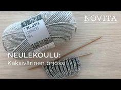 Neulekoulu - Novita Lapasten kokotaulukko, 7 Veljestä Opi Colors, Magic Loop, Marimekko, Diy And Crafts, Knit Crochet, Alpaca Wool, Knitting, Pattern, Cotton