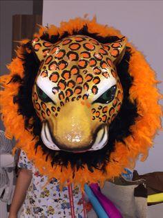 Máscaras tigres carnaval de Barranquilla