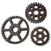 would love these gears as wall decor in a boys room