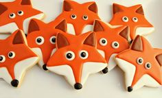 Fox Cookie Face with a star cutter