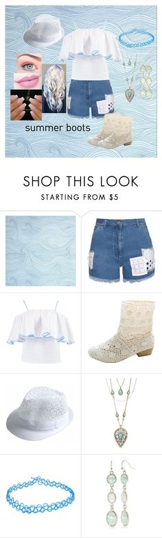 """Untitled #777"" by harleyquinn-1970 ❤ liked on Polyvore featuring House of Holland, Boohoo, Lucky Brand, New Directions and Anastasia Beverly Hills"
