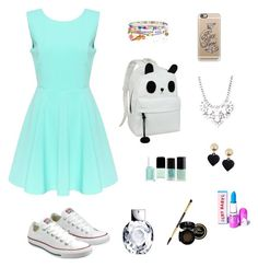 """""""Untitled #56"""" by sabanovicelma ❤ liked on Polyvore featuring Converse, Monsoon, Moschino, Forever 21, Casetify and Lime Crime"""