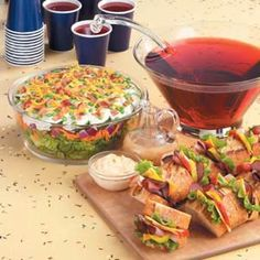 Graduation Party Recipes Mark this milestone with an easygoing graduation menu thatll earn top honors.