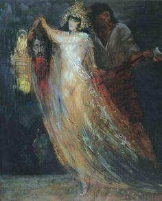 """silenceforthesoul: """"Georges Desvallières - Salomé, 1905 """""""