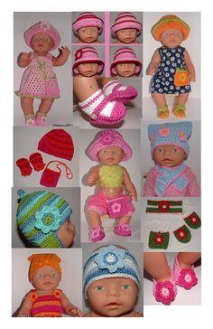 Haakpatroontjes voor BabyBorn Digitale Versie -
