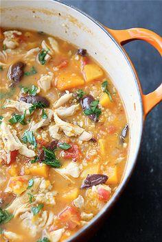 Cookin' Canuck – Hearty Chicken Stew with Butternut Squash & Quinoa Recipe