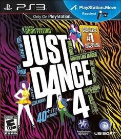 Just Dance 4 (Playstation 3, 2012) Brand New ~ Sealed    PS3 Move Required - 40+ Tracks - World's #1 Dance Game