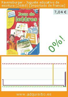 Ravensburger - Juguete educativo de escritura (24468) [Importado de Francia] (Juguete). Baja 47%! Precio actual 7,04 €, el precio anterior fue de 13,21 €. https://www.adquisitio.es/ravensburger/juguete-educativo-lectura-0