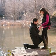 Top 9 Most Creative Proposal Ideas- outside in this manner would be perfect :)