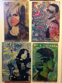 art and words Art Education Lessons, Art Lessons, Portrait Art, Portraits, Graphic Illustration, Graphic Art, Gcse Art Sketchbook, 8th Grade Art, Art Courses