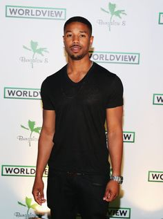 Michael B. Jordan - Celebs at the Worldview Entertainment Cannes Celebration