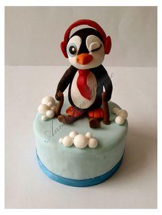 Il Pinguino sciatore!