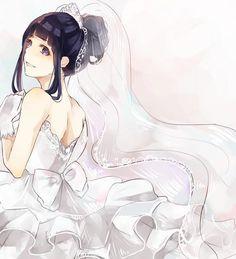 Hinata mariage <3 :3