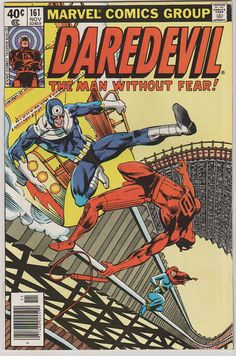 Daredevil V1 161.  NM. Nov 1979.  Marvel by RubbersuitStudios #frankmiller #comicbooks #daredevil