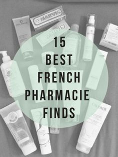 15 best french pharmacie beauty finds via MINT LOVE SOCIAL CLUB