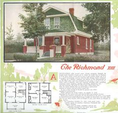 "Aladdin Kit Home, ""The Richmond,"" 1920"