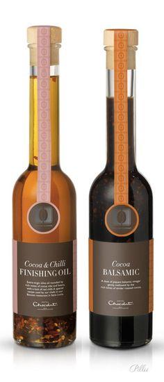 Hotel Chocolat (Cocoa Cuisine Collection) Cocoa & Chilli FINISHING OIL, Cocoa BALSAMIC PD