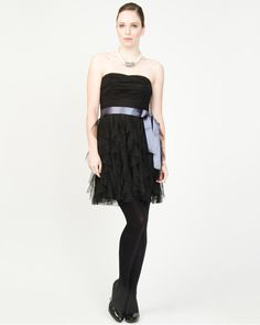 Ruffle Sweetheart Cocktail Dress