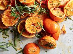Oh, Sweet! Brûléed Citrus Fruits With Fresh Herbs