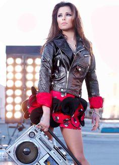 Cheryl Ghetto Blasting | Cheryl Cole I love this skirt