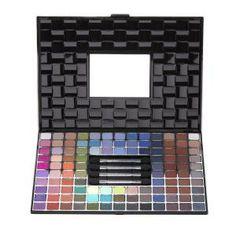 Estojo com 110 sombras cintilantes, da Luisance #maquiagem #produtos #makeup #euquero #beauty #beleza #belacenter